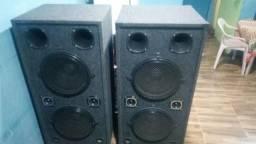 2 caixas de som profissional