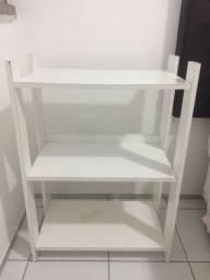Mini estante branca