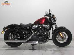 Harley-davidson Forty Eight - 2015 Vermelha - Baixo KM - 2015