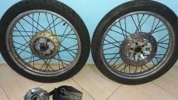 Rodas de Ferro Titan 150