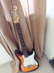 Guitarra Strato Sunburst Tuner - Stratotuner-3ts
