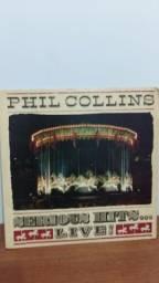 Lp Phil Collins Serious Hits. Live! Álbum Duplo