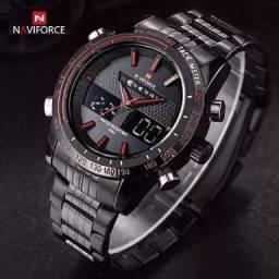 Relógio Original Naviforce Digital e Analógico