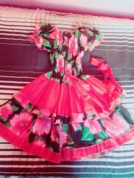 Vestido de quadrilha infantil R$30
