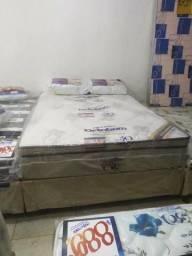 Colchão pró vida ORTOBOM + cama box 138