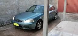 Vendo Honda Civic. aceito cartão crédito e débito - 1999