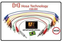 Hosa Technology CSS890 cabo patch P10 estéreo 90cm ñ Santo Angelo Neutrik