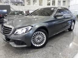 Mercedes C 180 EXCLUSIVE 4P - 2018