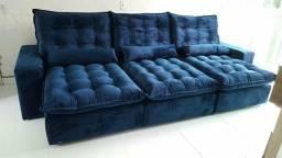Sofa retratil e reclinável 3.00 x 1.90