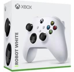 Controle Xbox Series X/S Lançamento - Preto/Branco - pronta entrega