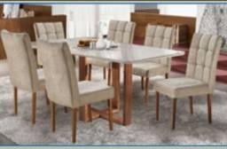 Sala mesa jantar 6 cadeiras zap *