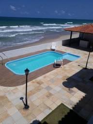 Duplex à Beira Mar com 2 Quartos 2 Banheiros e Piscina na Barra de São Miguel-AL