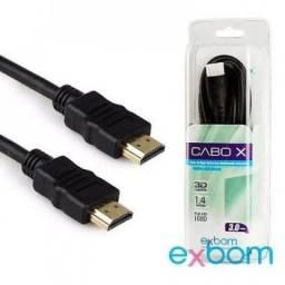 Cabo HDMI + HDMI 3M H30SM - Exbom
