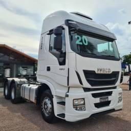 Caminhão Iveco Wi-Way 480 Cavalo Traçado 6x4 2020 - com 37mil KM
