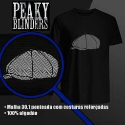 Camiseta Peaky Blinders - 100% Algodão