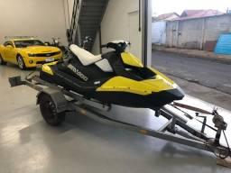 Jet ski seadoo 2015 amarelo e preto com 19hs de uso revisado raridade 45900,00
