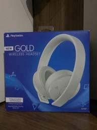 Fone Headset Gold - Playstation - Branco
