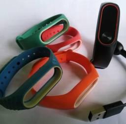 Xiaomi MiBand 2 + 4 pulseiras