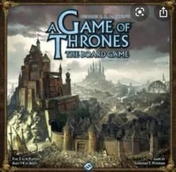 Jogo de tabuleiro game of thrones