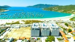 Maravilhosas coberturas frente mar 03 suites piscina e sauna 03 vagas Arraial do Cabo