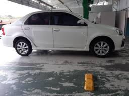 Toyota Etios XLS 1.5 Automático único dono, aceito troca
