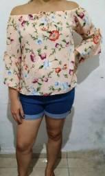 Blusa cigana florada