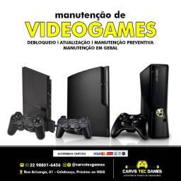 Conserto Videogames
