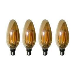 Lampadas de Led Kit 4 Multi Filamento Bivolt 30W Iluminação Retro Vintage comprar usado  Rio de Janeiro