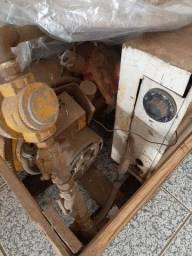 Queimador de colocar botijão de gás