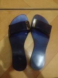 Rasteirinha azul tamanho 35