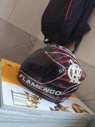 Mine capacete do flamengo pra colecionador