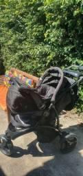 Carrinho de bebê infant off-road  com bebê conforto!  Aceito cartão!!!!!!!