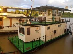 Casa Flutuante - Houseboat no Pantanal