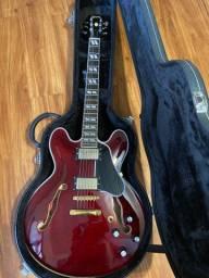 Guitarra Semi acustica ES 335 / 345 HandMade com case