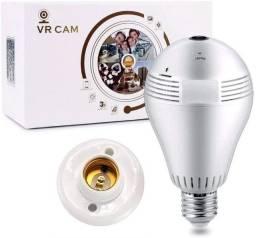 Lampada Camera Vr Cam 360 Wifi Celular iPhone E Android