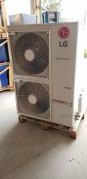 Ar condicionado cassete 52.000 inverter lg quente e frio semi novo