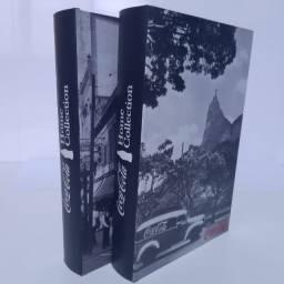 Kit Book Box Coca Cola - Outdoor - Landscape Rio de Janeiro - Caixa Livro estilo Vintage