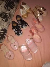 Lotinho de sapato para menina