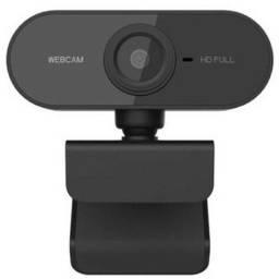 Webcam Câmera Full HD Com Microfone Câmera PC Visão 360°