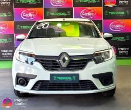 Título do anúncio: Renault Logan Zen - 1.0 Flex Manual - Branco - 2020