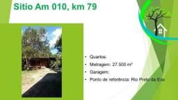 Título do anúncio: sítio - AM 010, km 79 - prox. ao rio preto da eva.