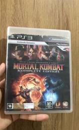 Jogo mortal kombat 9 komplete edition ps3 mídia física
