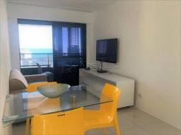 Título do anúncio: LF*Oportunidade próximo a praia de Boa Viagem,2 quartos,andar alto,mobiliado