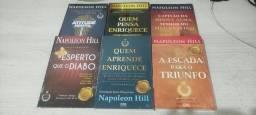Título do anúncio: Coleção de Livros Napoleon Hill