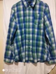 Camisa xadrez Volcom original Tamanho G
