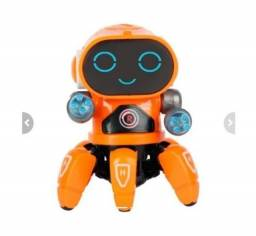 Título do anúncio: Brinquedo Robô Aranha Dançarino 6 Pernas Com Luz, Som