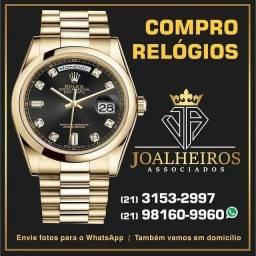 Título do anúncio: Compra de relógios de luxo rolex e outros