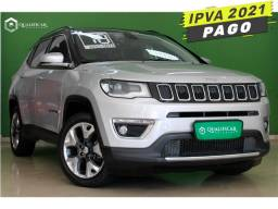 Jeep Compass 2018 2.0 16v flex limited automático