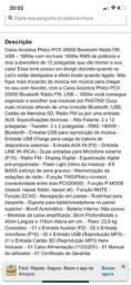 Título do anúncio: Som Philco pxc2000