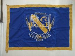 Título do anúncio: Bandeira da Cervejaria Mineira Falke Bier - Original em Perfeito Estado. Cerveja Beer Bier